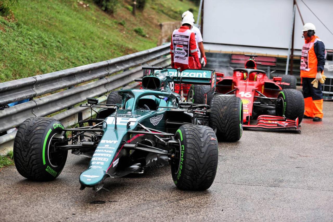 フェラーリF1代表 「クラッシュの加害者側は損害賠償を支払うべき」