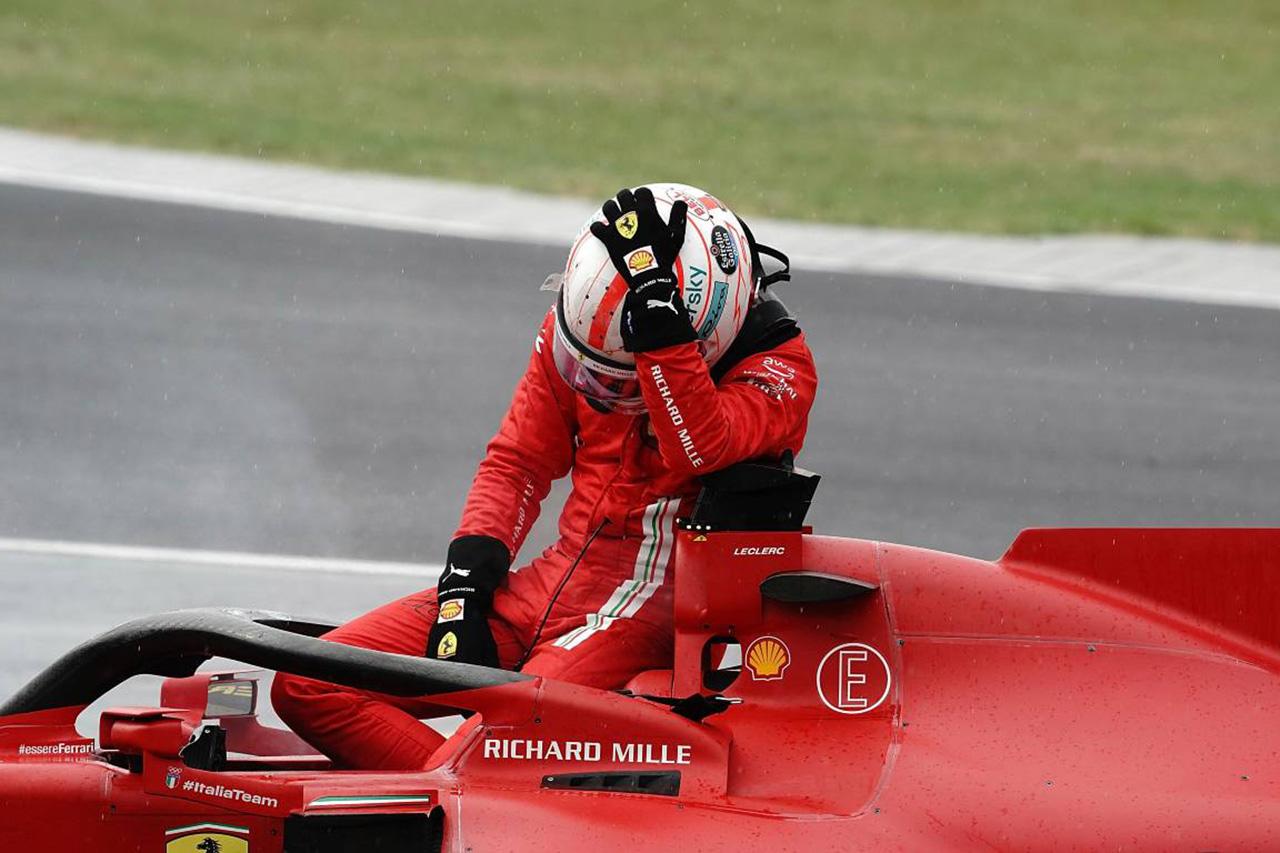 シャルル・ルクレール、F1ハンガリーGPの事故エンジンは修復不可能