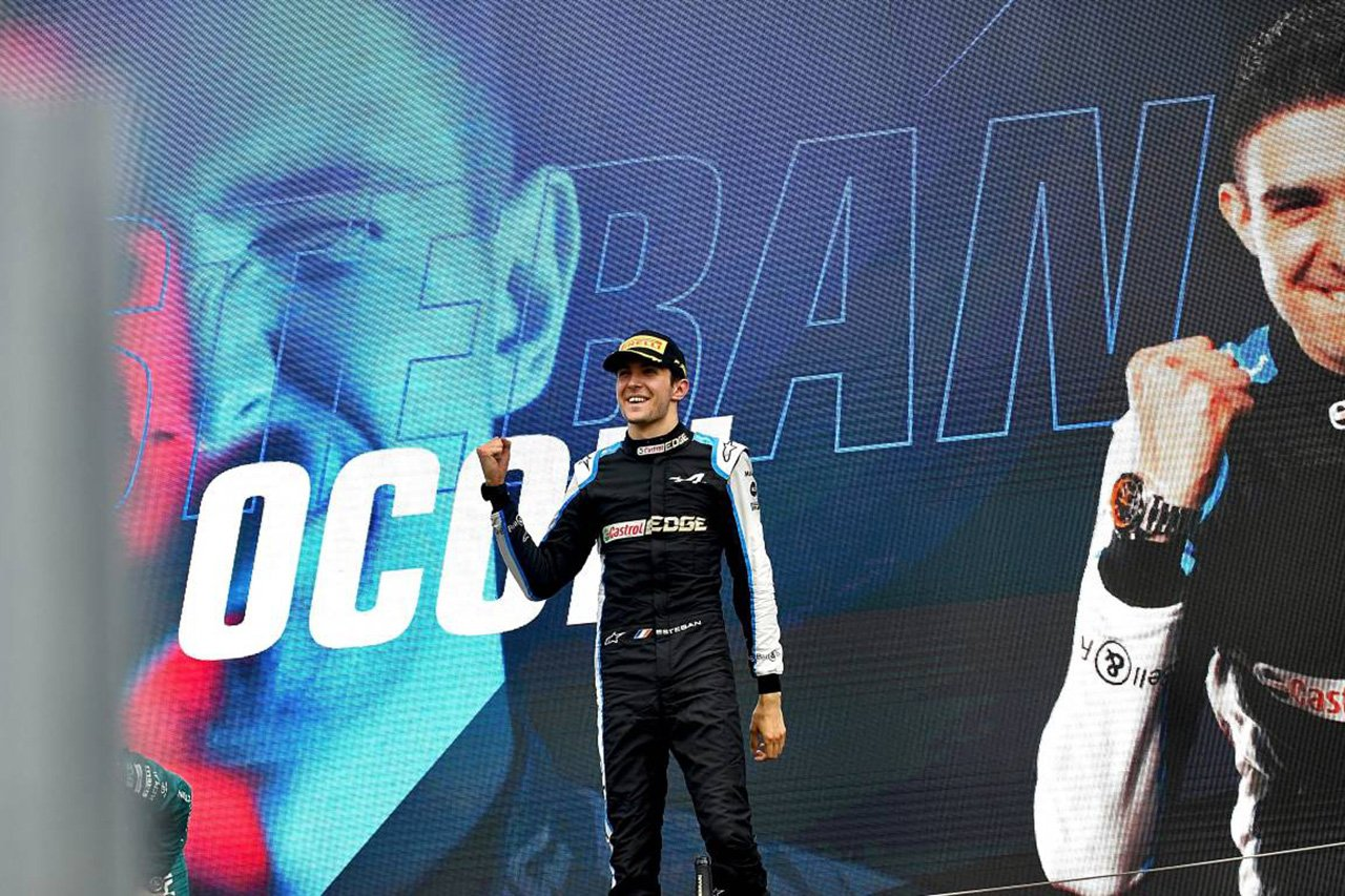 エステバン・オコン 2021年 F1ハンガリーGP