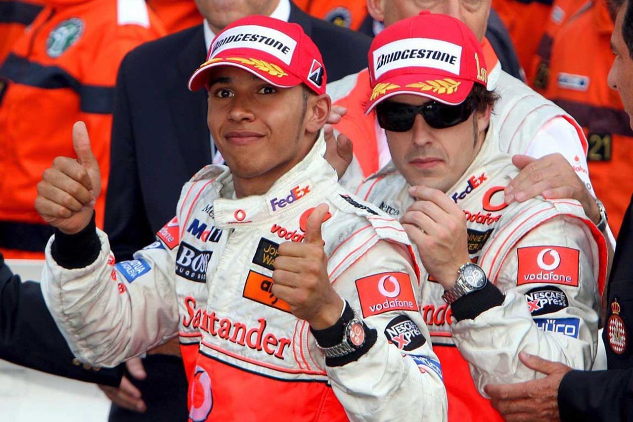 フェルナンド・アロンソ 「ハミルトンとの軋轢はマクラーレンF1に責任」