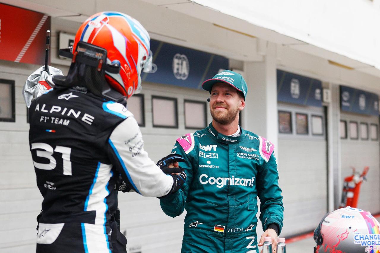 アルピーヌF1のエステバン・オコン 「良いレースを戦ったベッテルの失格は悲しい」