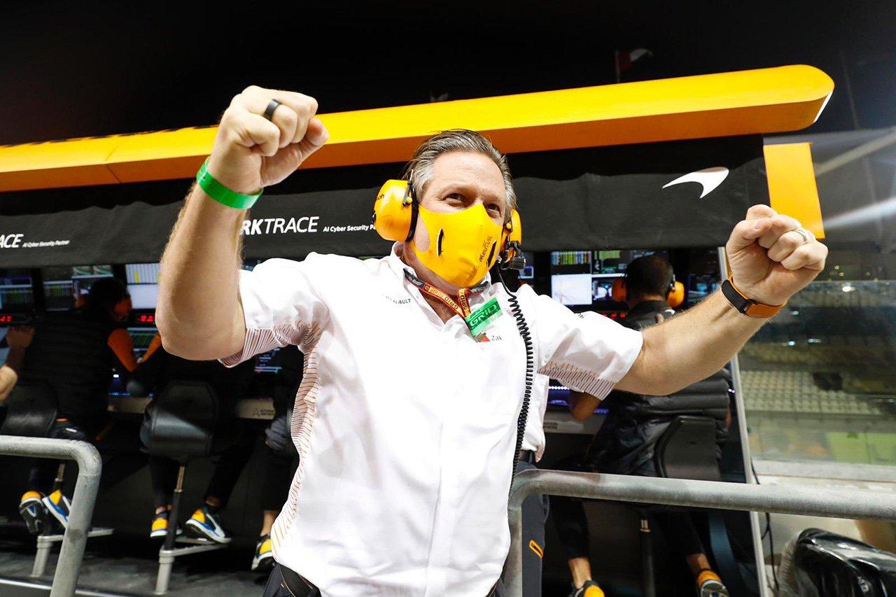 マクラーレンF1のザク・ブラウン 「タイトルスポンサーは必要ではない」