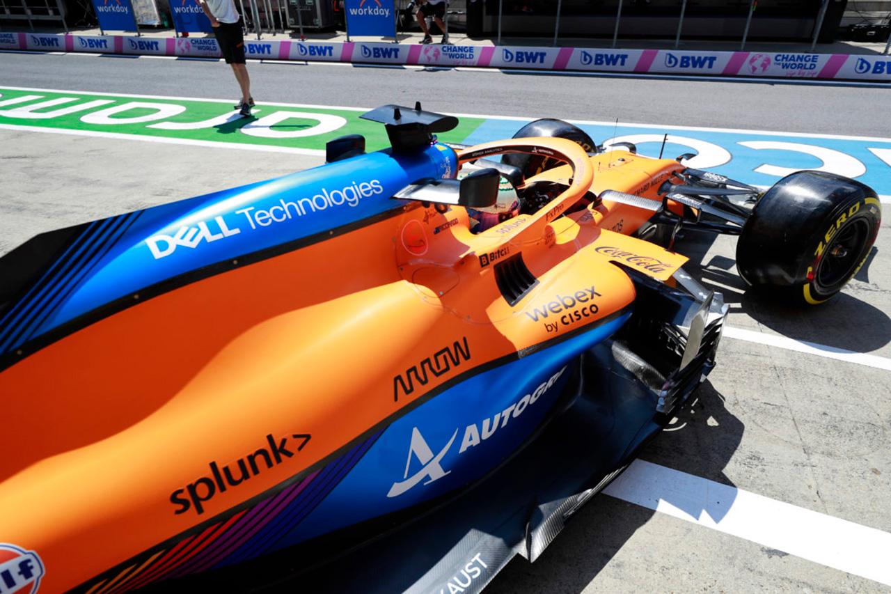 マクラーレンF1、選手権3位を目指してMCL35Mのアップグレードを継続