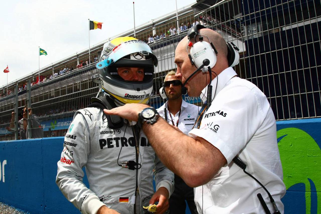 F1:ジョック・クリア 「ニコ・ロズベルグと不仲で担当を変えてもらった」