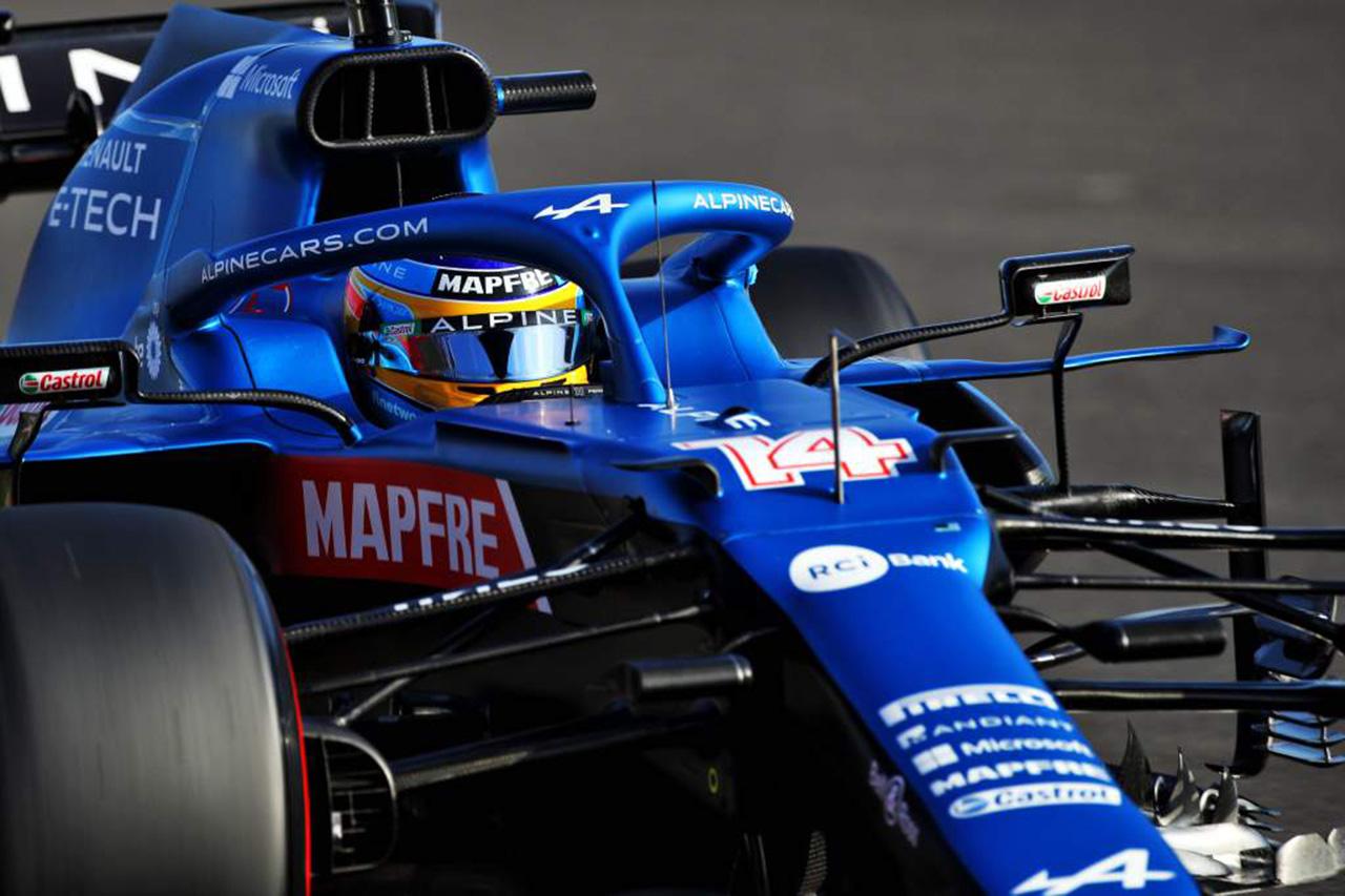 フェルナンド・アロンソ、ル・マン24時間でアルピーヌF1カーでデモ走行
