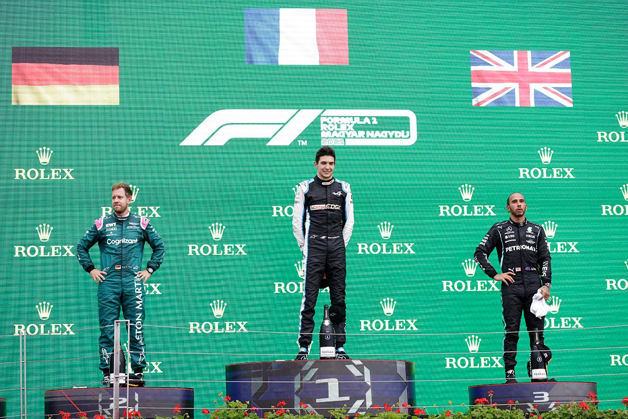 2021年 F1ポイントランキング (セバスチャン・ベッテル失格確定後)