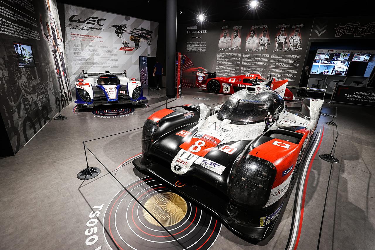 トヨタ、2020年ル・マン24時間レースで優勝したTS050 HYBRID 8号車をル・マン24時間レース博物館へ寄贈