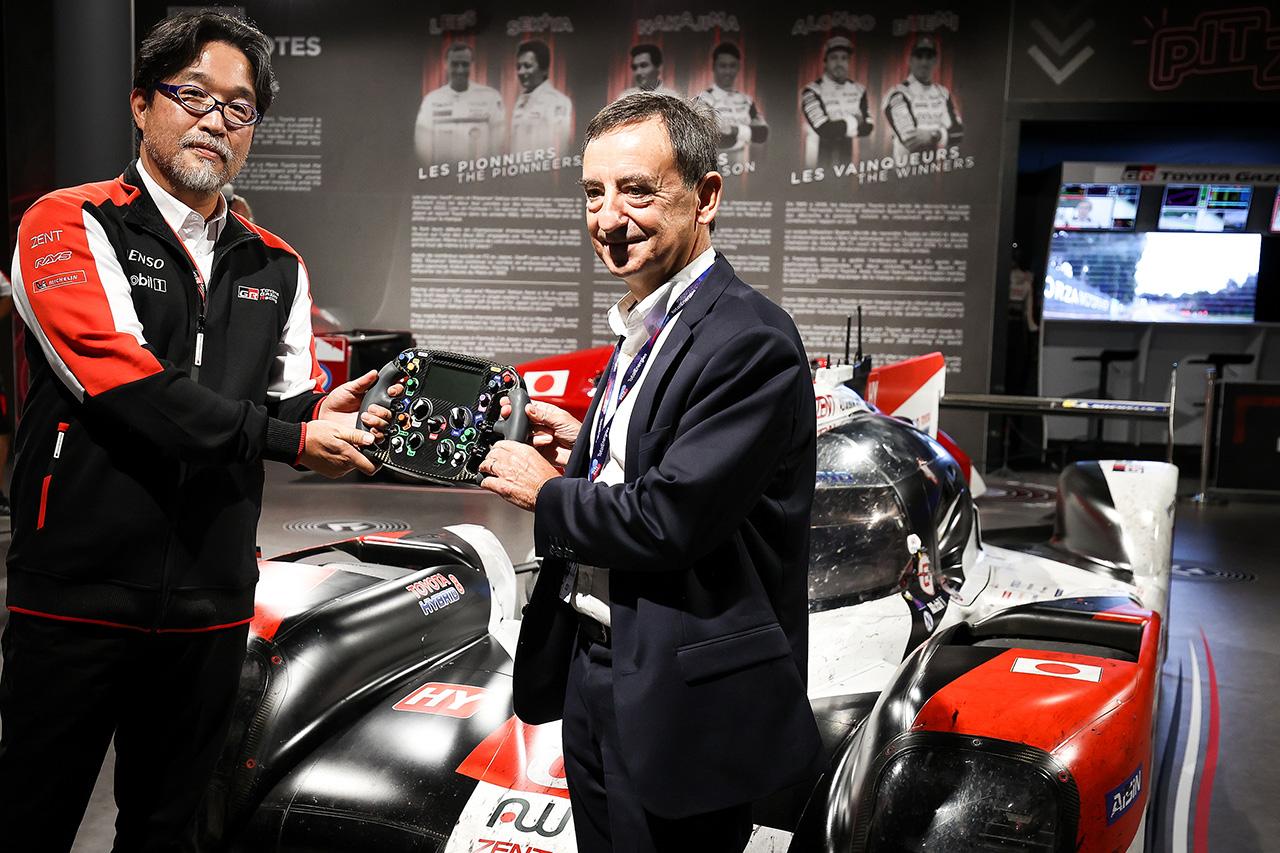 トヨタ、TS050 HYBRID 8号車をル・マン24時間レース博物館へ寄贈