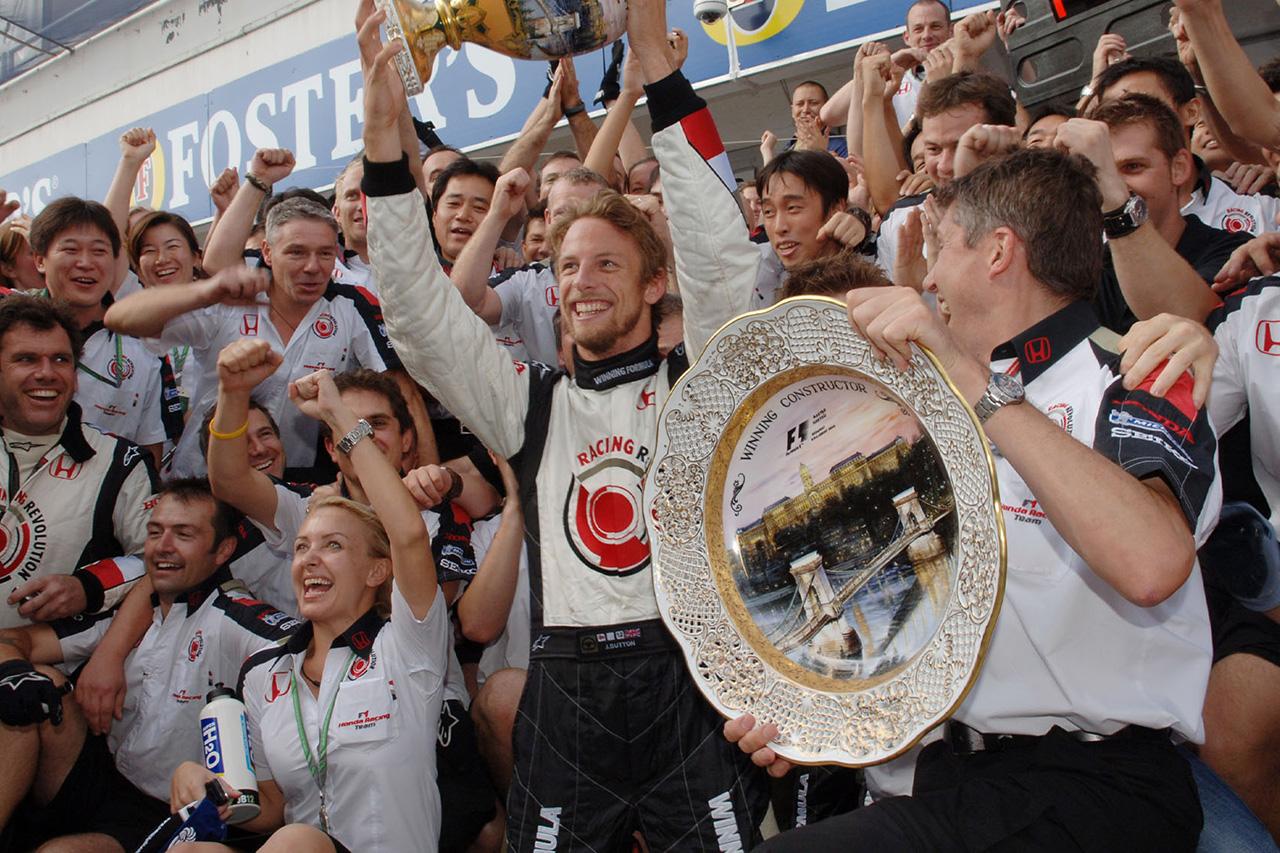 ジェンソン・バトン、ホンダとF1初勝利を挙げたハンガリーGPを振り返る
