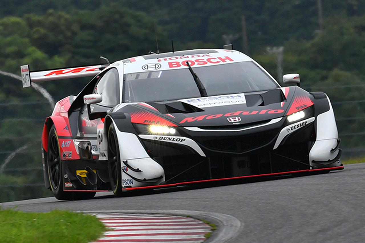 スーパーGT 第3戦:Modulo NSX-GTが鈴鹿の予選を完全制覇!