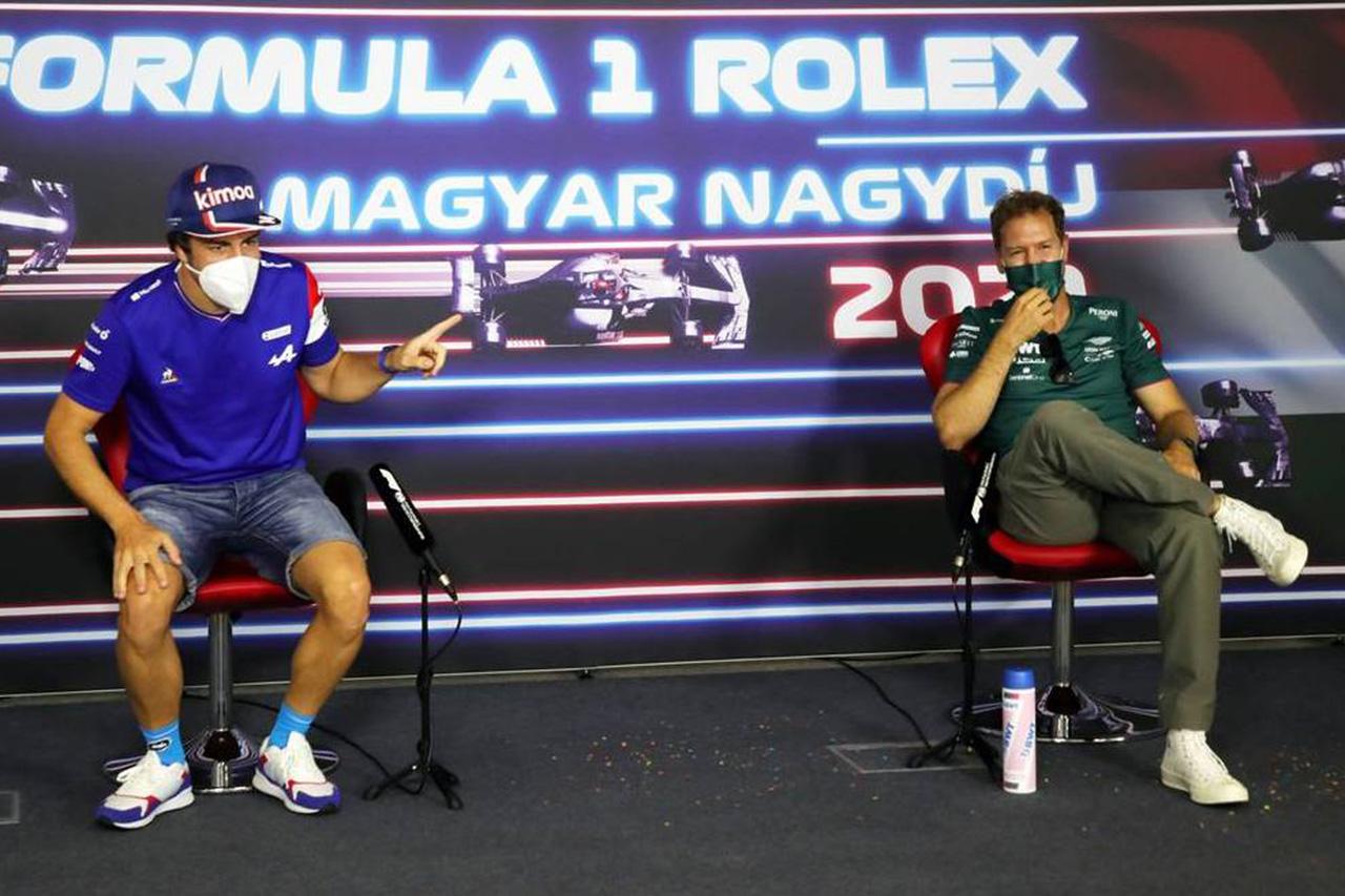 F1:セバスチャン・ベッテル、アロンソに敬意「シューマッハを倒すなど不可能と思っていた」