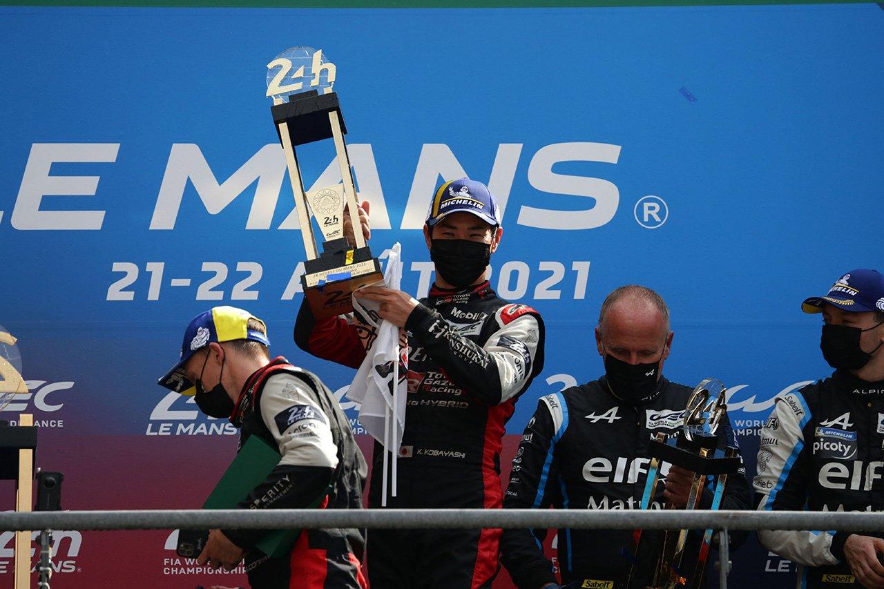 ル・マン初勝利の小林可夢偉 「死力を尽くして戦う必要があった」 / ル・マン24時間レース