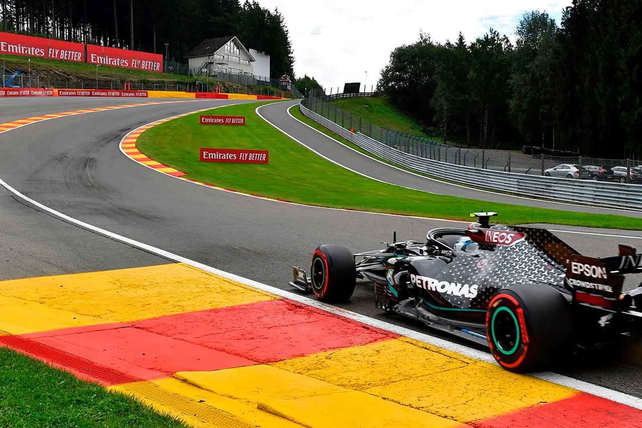 F1ベルギーGP 2021年:開催スケジュール&テレビ放送時間