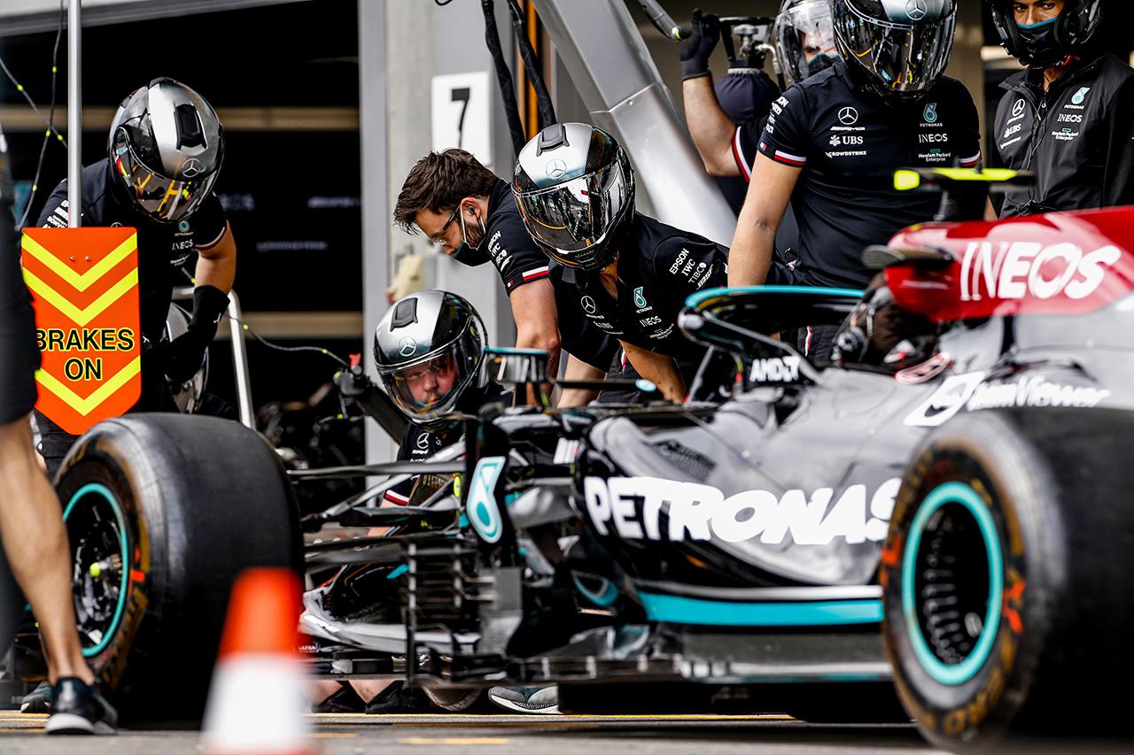 メルセデスF1代表 「アップグレードでW12は良いポジションにいる」
