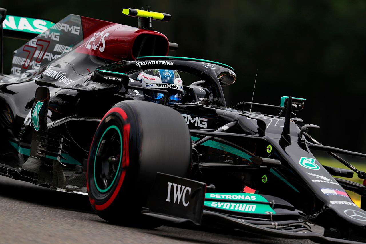 メルセデスF1 「エンジンモードでラップタイムは大きく変動する」 / F1ベルギーGP 金曜フリー走行