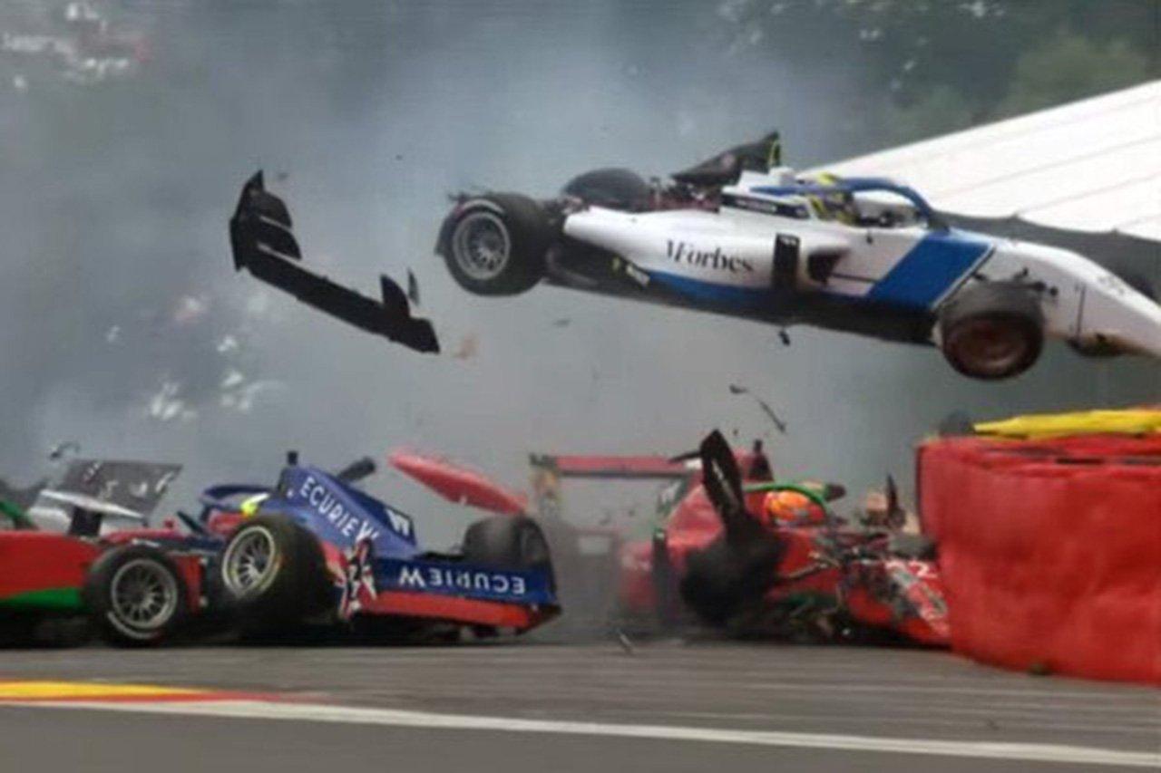 Wシリーズ、予選で多重クラッシュ発生もドライバーの容態はポジティブ / F1ベルギーGP関連