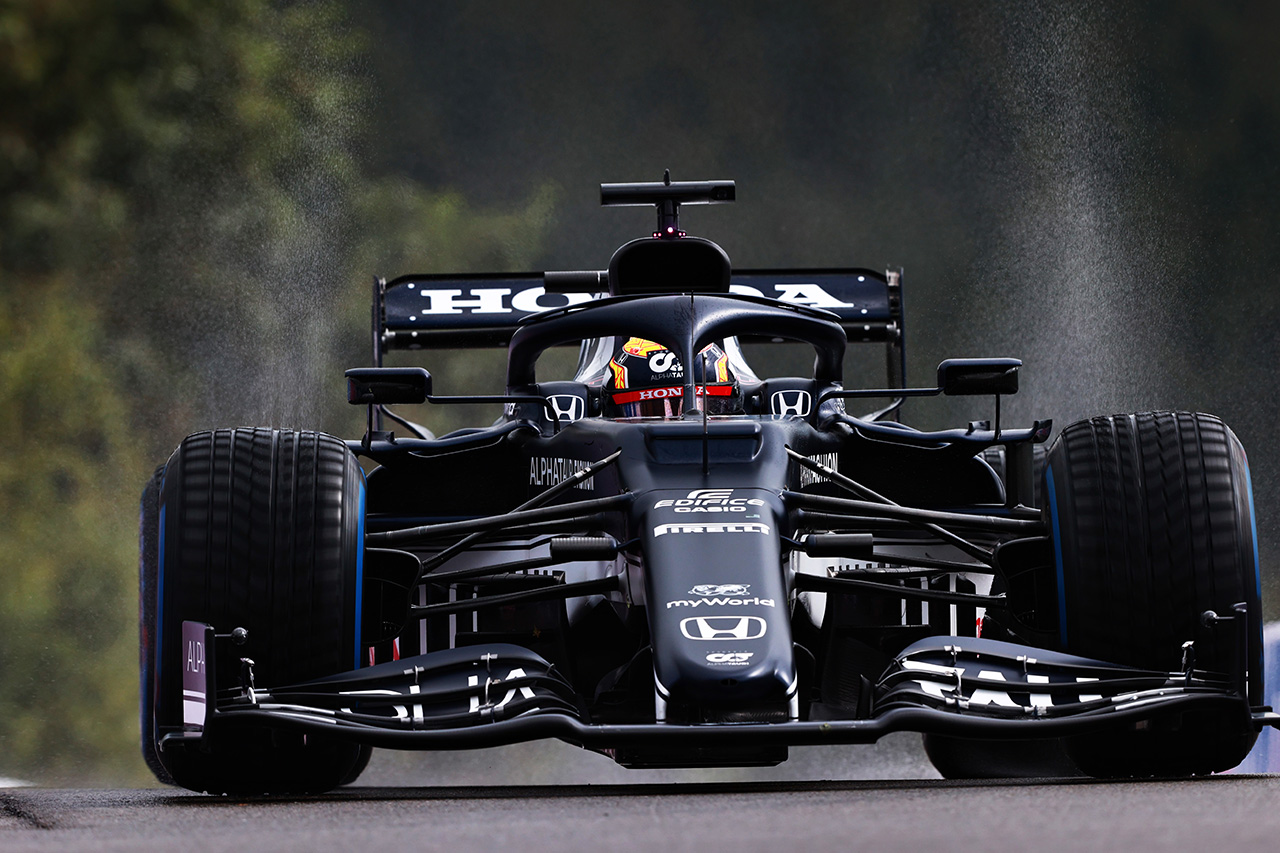 アルファタウリ・ホンダF1 「角田裕毅の本来の目標はQ2進出だった」 / F1ベルギーGP 予選