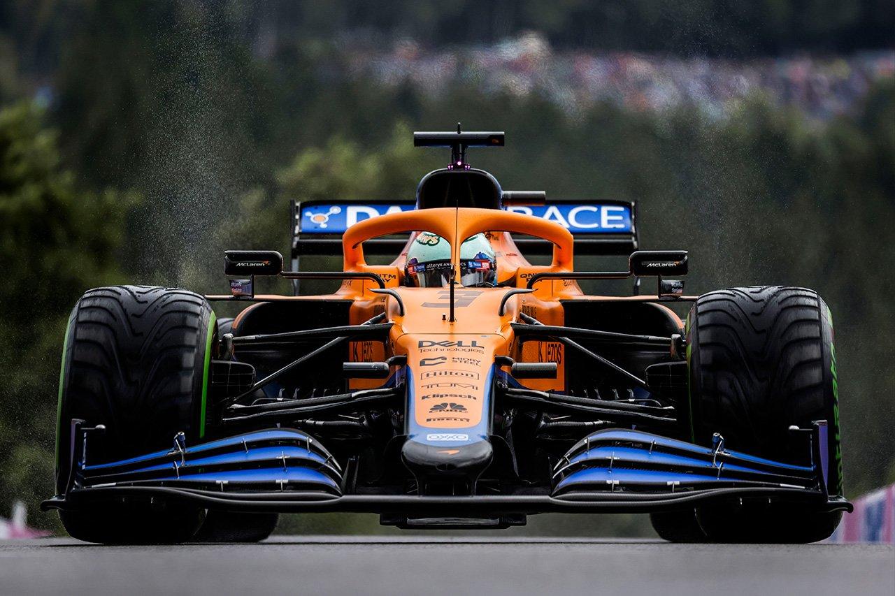 ダニエル・リカルド、マクラーレンとの予選ベスト4番手 「本当に満足」 / F1ベルギーGP 予選