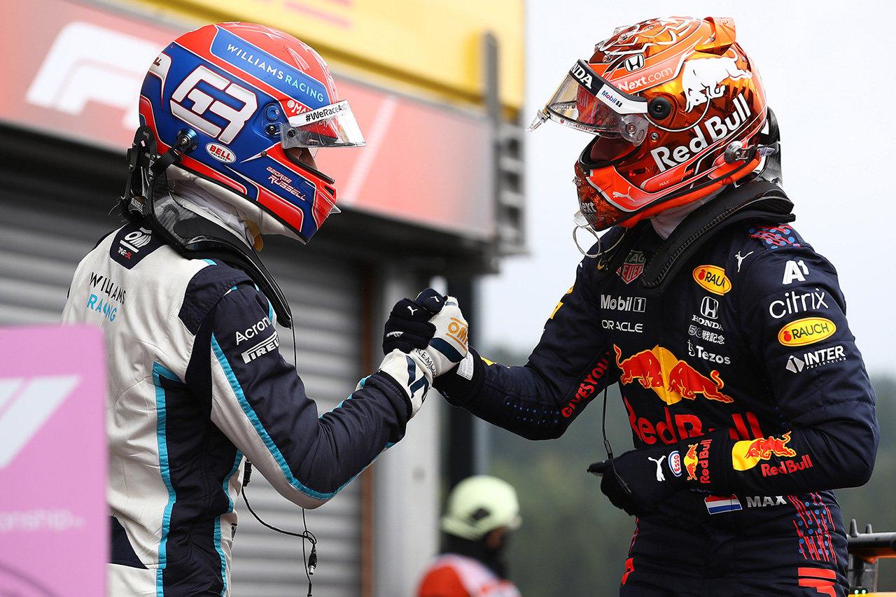 F1ベルギーGP 予選:マックス・フェルスタッペンがスパ初ポール!ジョージ・ラッセルが大健闘2番手!