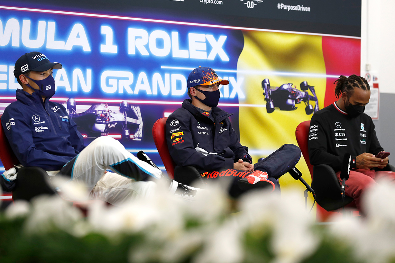 2021年 F1ベルギーGP 予選:トップ10 ドライバーコメント
