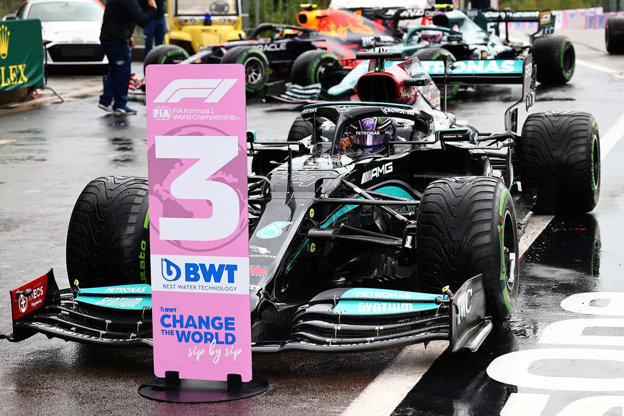 ルイス・ハミルトン 「ウイングレベルは今日に関してはベストではなかった」 / F1ベルギーGP 予選
