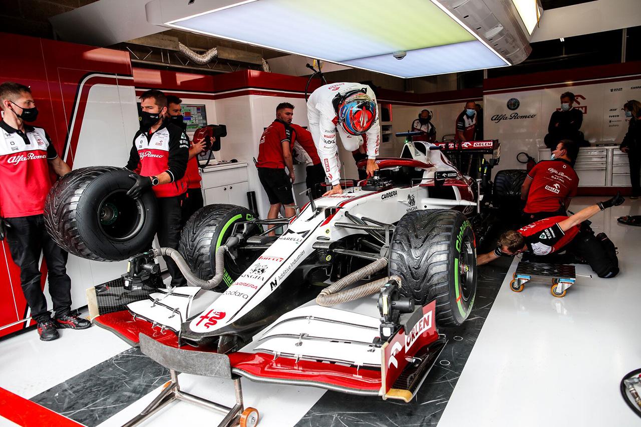 キミ・ライコネン、リアウイング変更でピットレーンスタート / F1ベルギーGP 決勝