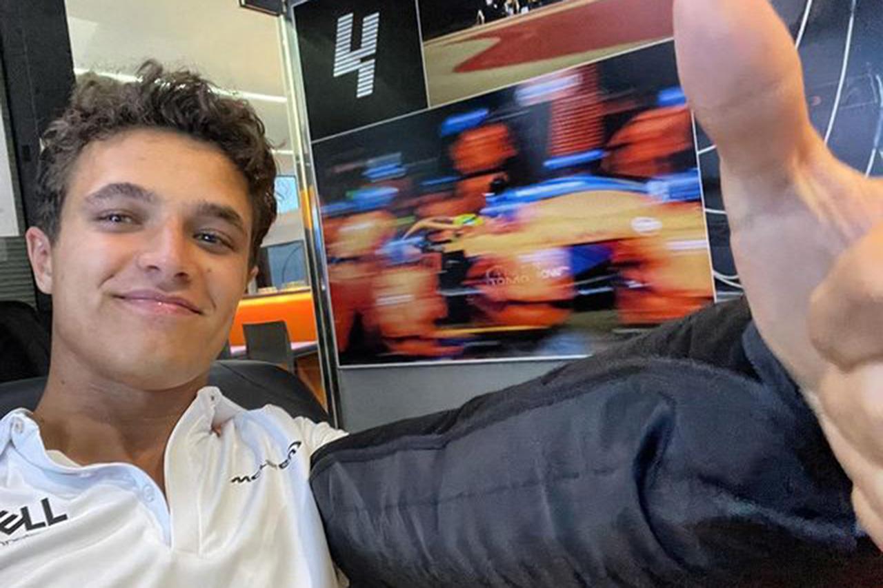 ランド・ノリス 「ポールポジションを争うこともできたと思う」 / F1ベルギーGP 予選