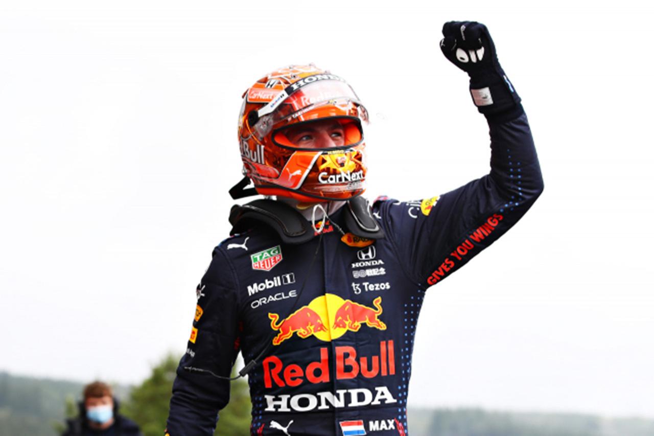 マックス・フェルスタッペン 「夏休み後のポールはとてもハッピー」 / F1ベルギーGP 予選