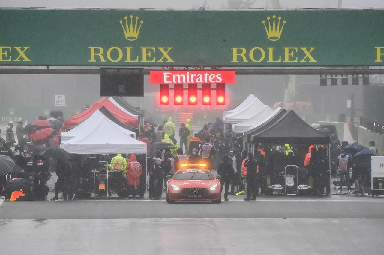 2021年F1ベルギーGP:3分27秒071秒…史上最短レース記録を大幅更新