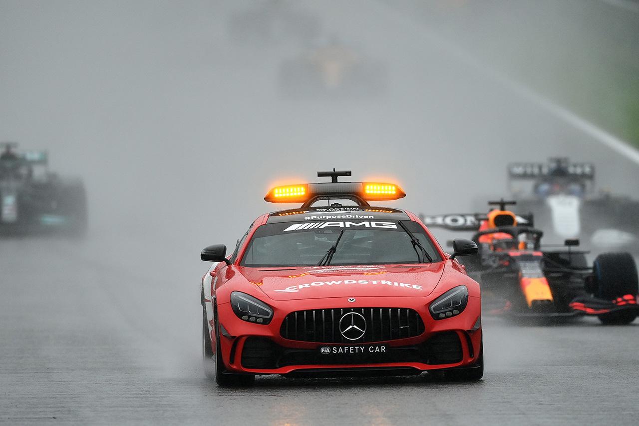 【速報】 F1ベルギーGP:セーフティカー先導3周でフェルスタッペン優勝