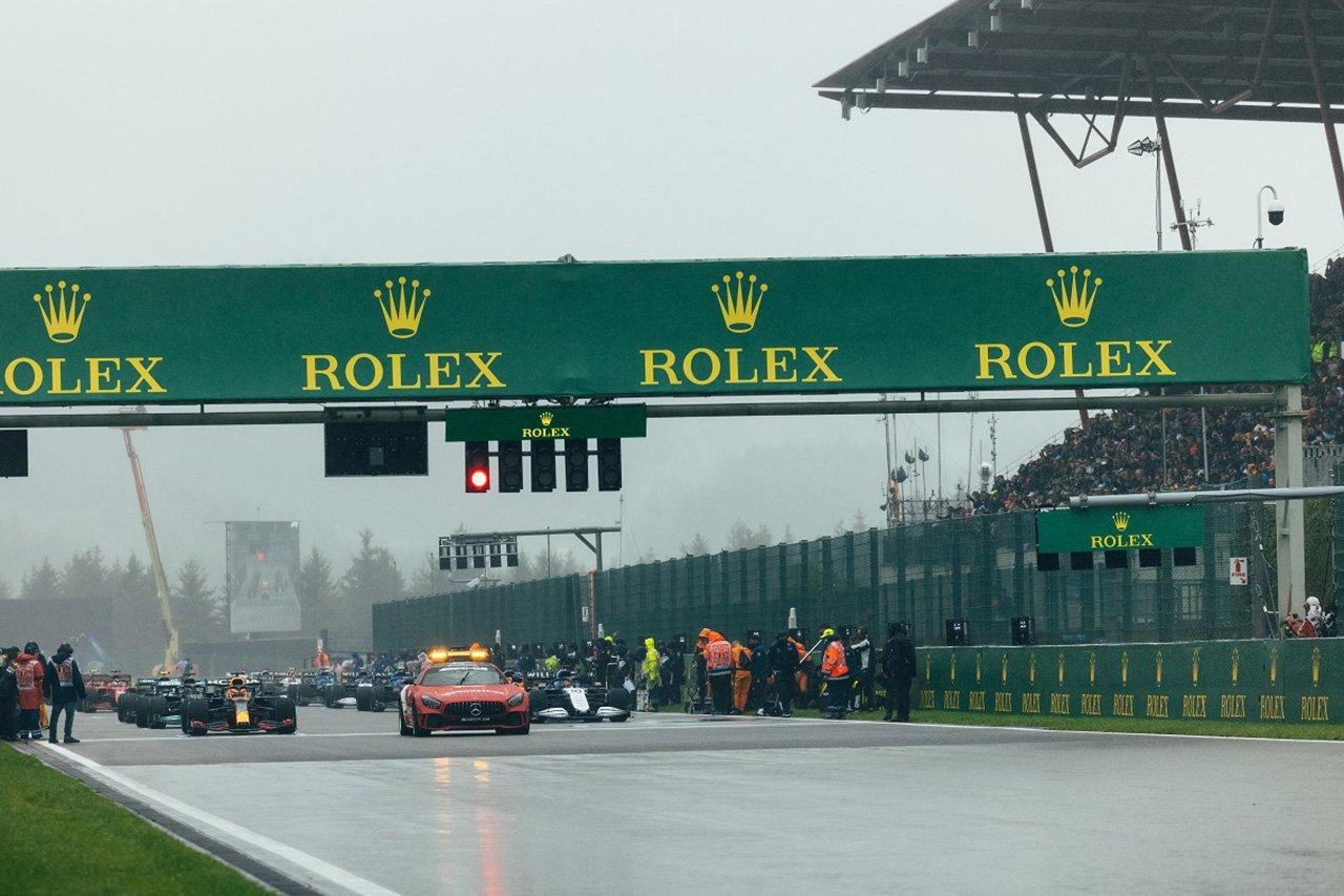 F1レースディレクター、1周レースにハーフポイントを付与した理由を説明 / F1ベルギーGP