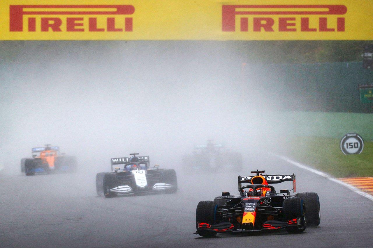 2021年 第12戦 F1ベルギーGP:ピレリ 決勝レポート