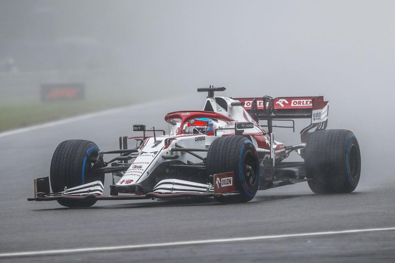 アルファロメオ、F1ベルギーGPのレース成立に不服を唱える声明