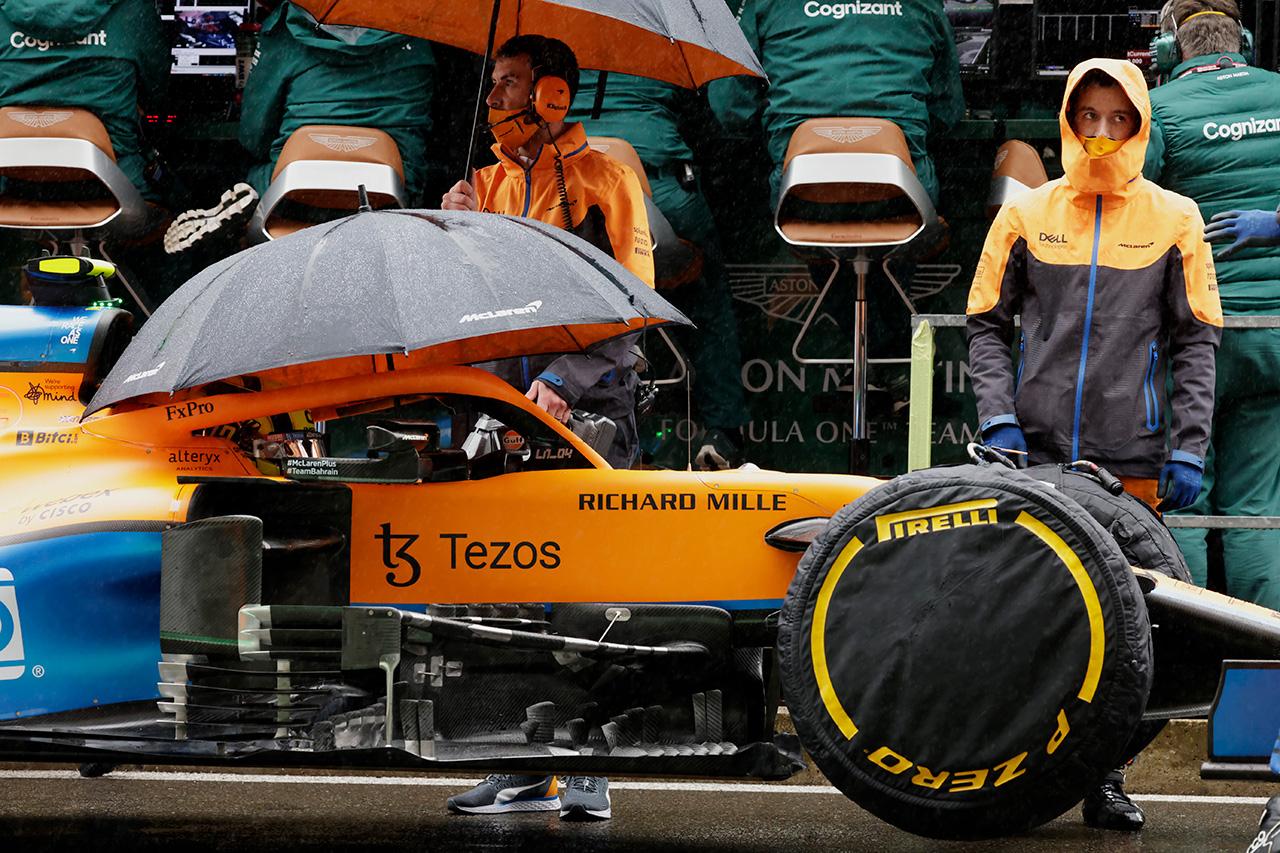 マクラーレンF1代表 「豪雨時の代替手段は屋内でレースをするしかない」