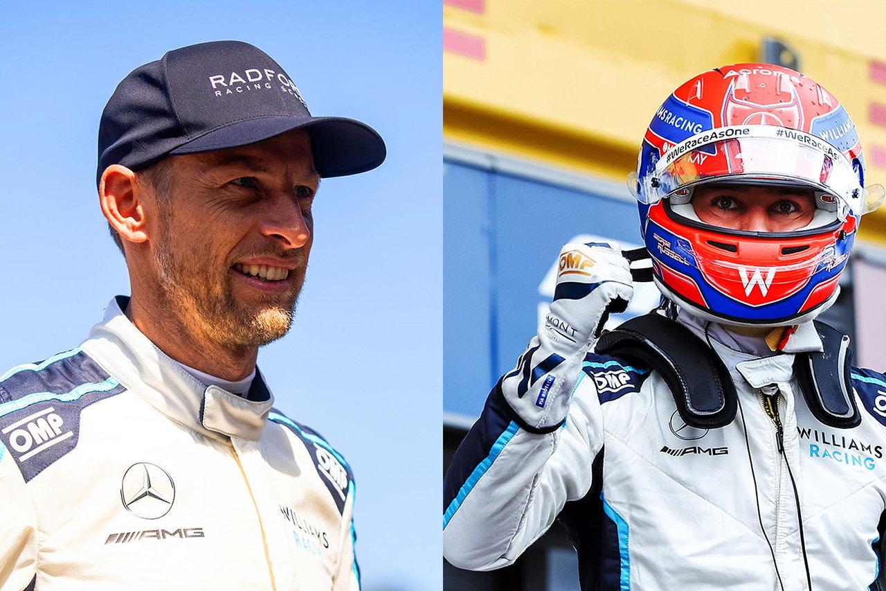 ジェンソン・バトン 「ラッセルのQ3は人生で見たなかで最高のラップ」 / F1ベルギーGP