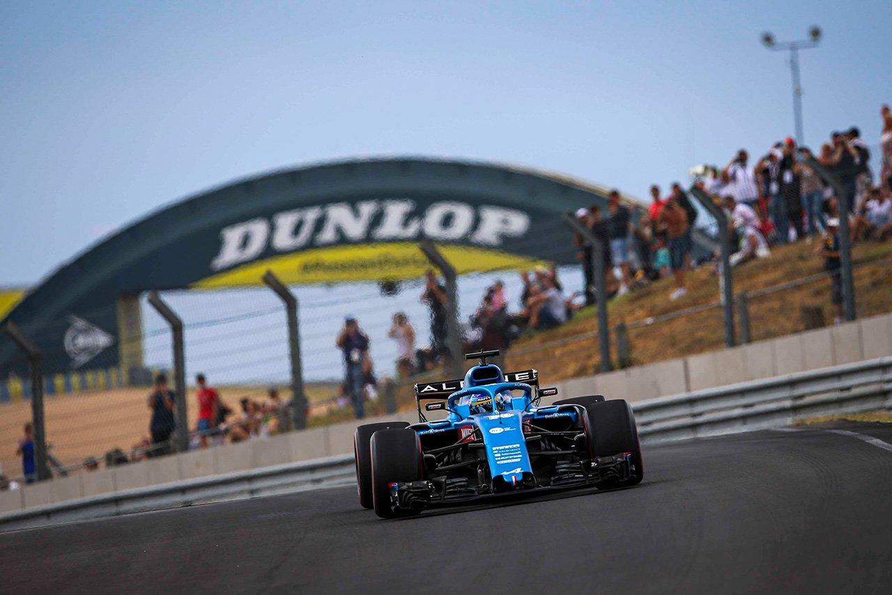 フェルナンド・アロンソ 「ル・マンのトラックはF1マシンには適していない」