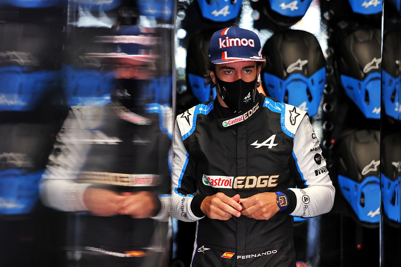 フェルナンド・アロンソ 「少しブラインドで予選に臨むことになる」 / F1オランダGP 金曜フリー走行