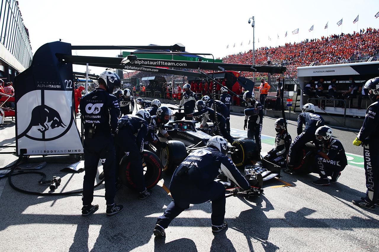 アルファタウリF1代表 「角田裕毅の問題の発生要因を調査する必要がある」 / F1オランダGP 決勝