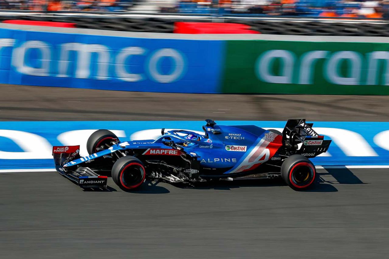 F1オランダGP:全ドライバーがアロンソのターン3のラインをコピー?