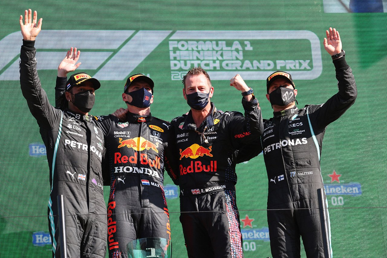 2021年 F1オランダGP 決勝:トップ10 ドライバーコメント