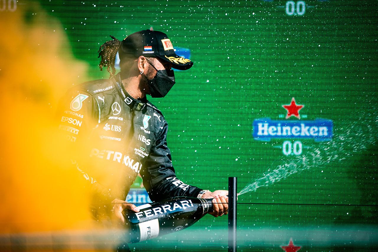 ルイス・ハミルトン 「戦略はベストではなかったがペースも敵わなかった」 / メルセデス F1オランダGP 決勝