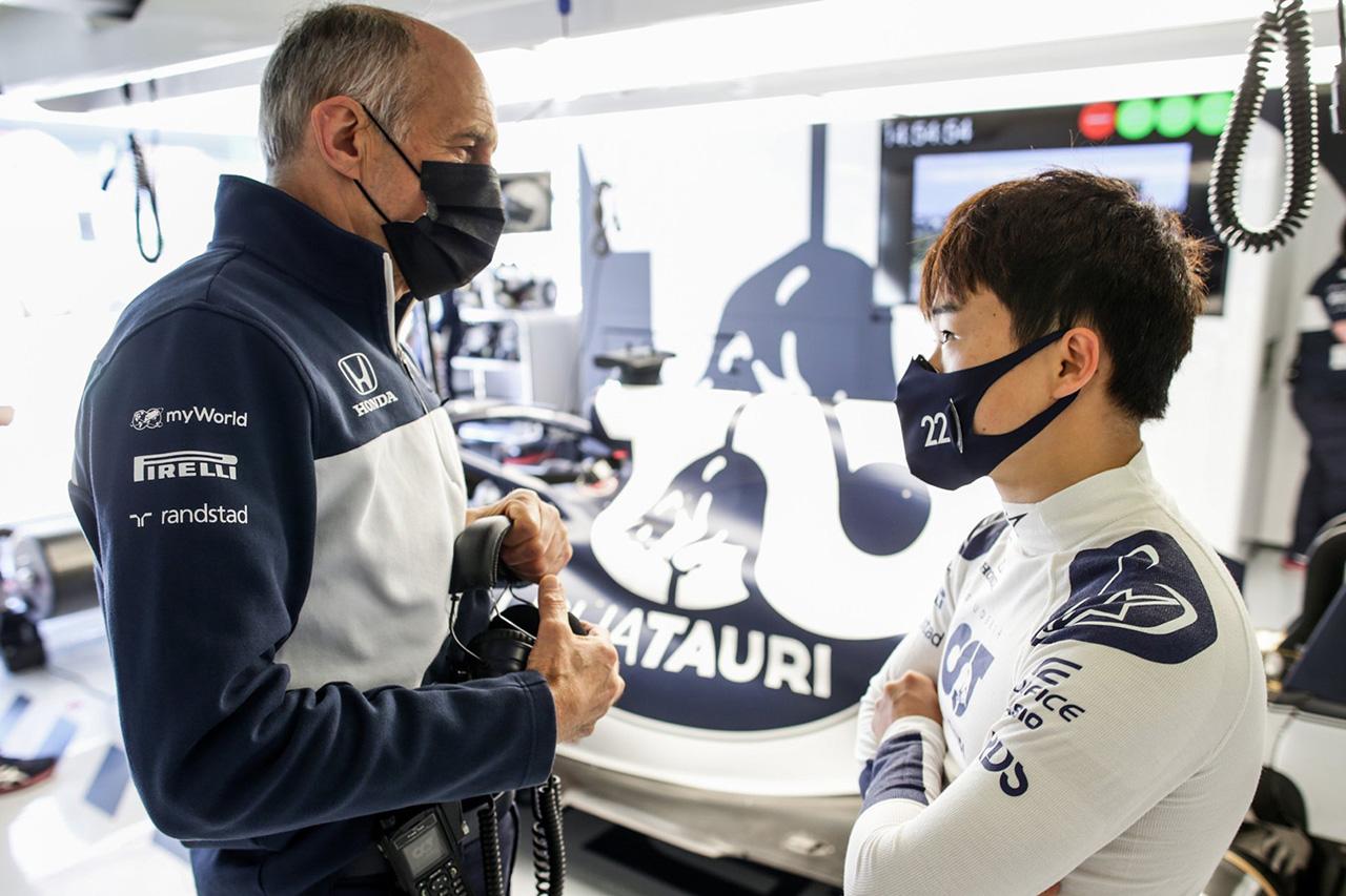 アルファタウリF1代表 「角田裕毅が我々とF1を続けられるのは良いこと」