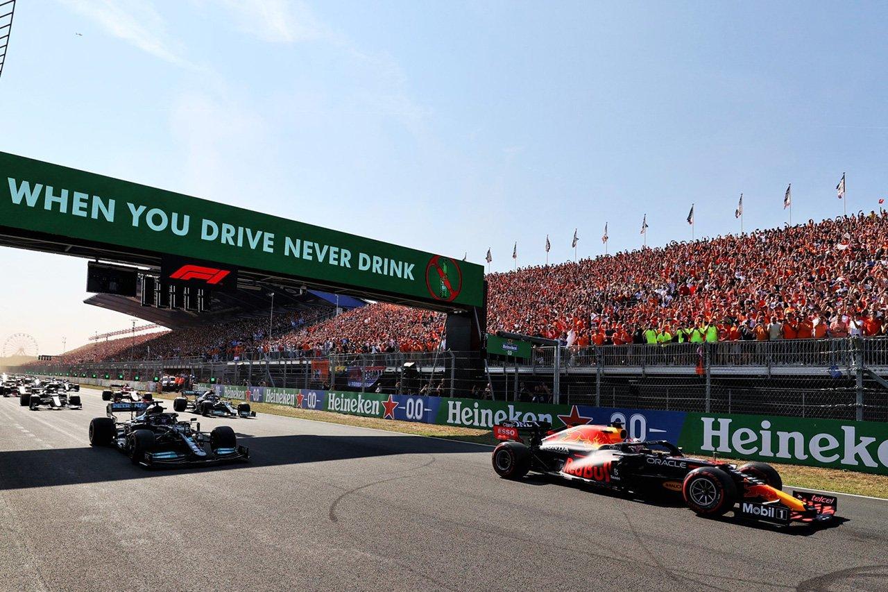 ルイス・ハミルトン 「フェルスタッペンのスタートはホンダF1の改善の現れ」