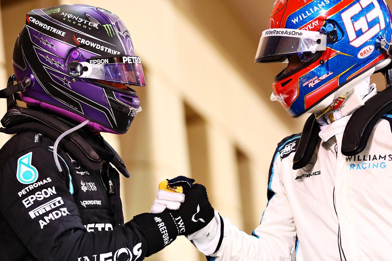 ルイス・ルイス・ハミルトン、ラッセルの加入を歓迎 「協力するのを楽しみにしている」 / メルセデスF1