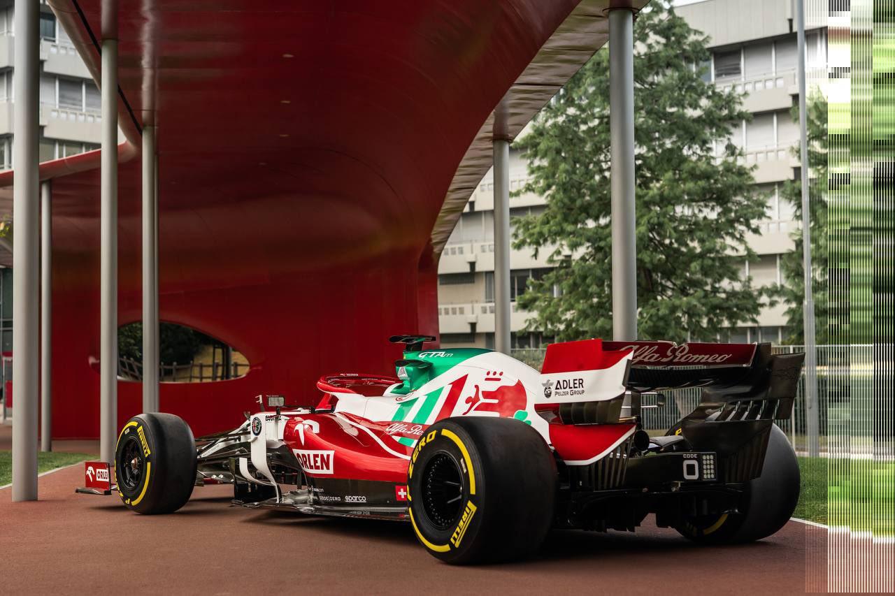 アルファロメオF1 2021年 F1イタリアGP 特別リバリー