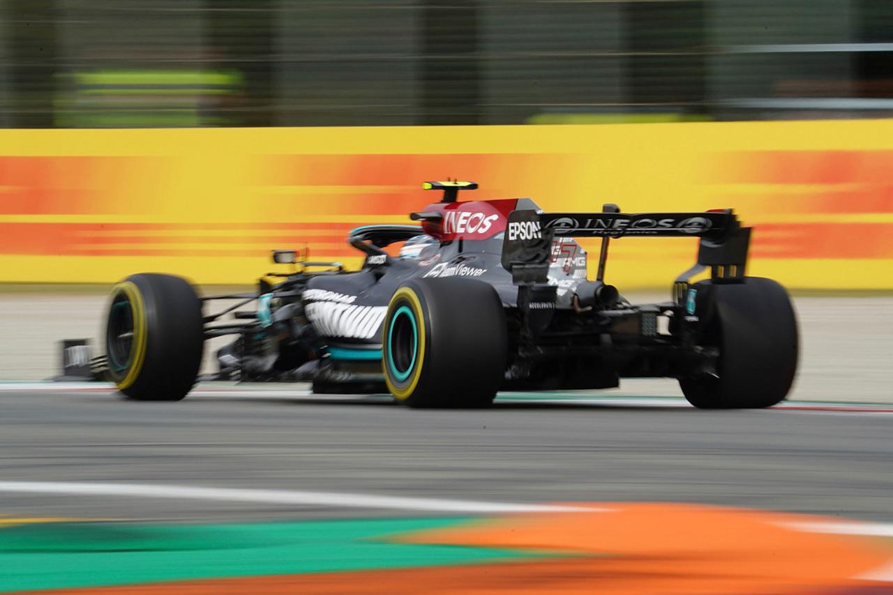 バルテリ・ボッタス、予選最速もエンジン交換で決勝は最後尾スタート / F1イタリアGP 予選