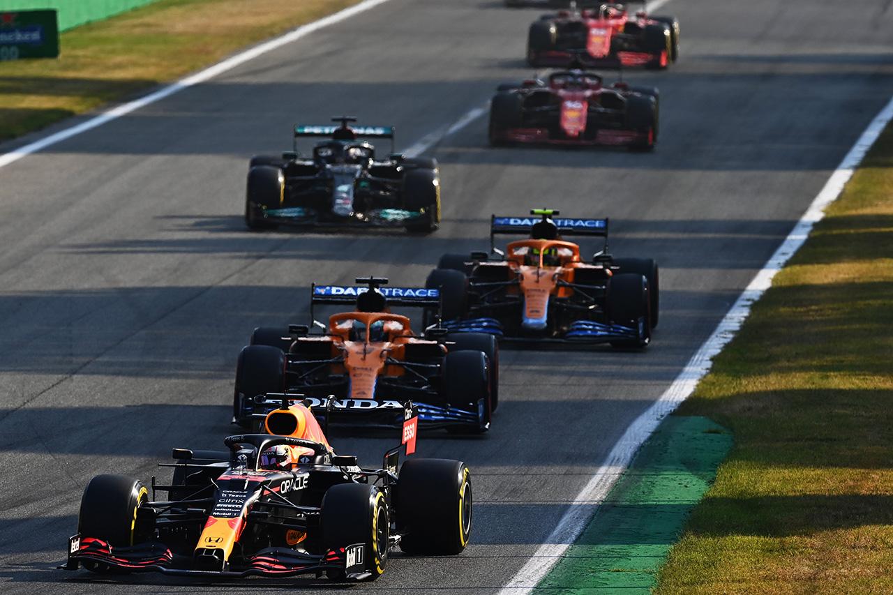 F1イタリアGP スプリント予選 結果速報:メルセデスのボッタス勝利&2位フェルスタッペンが繰り上がりポール!