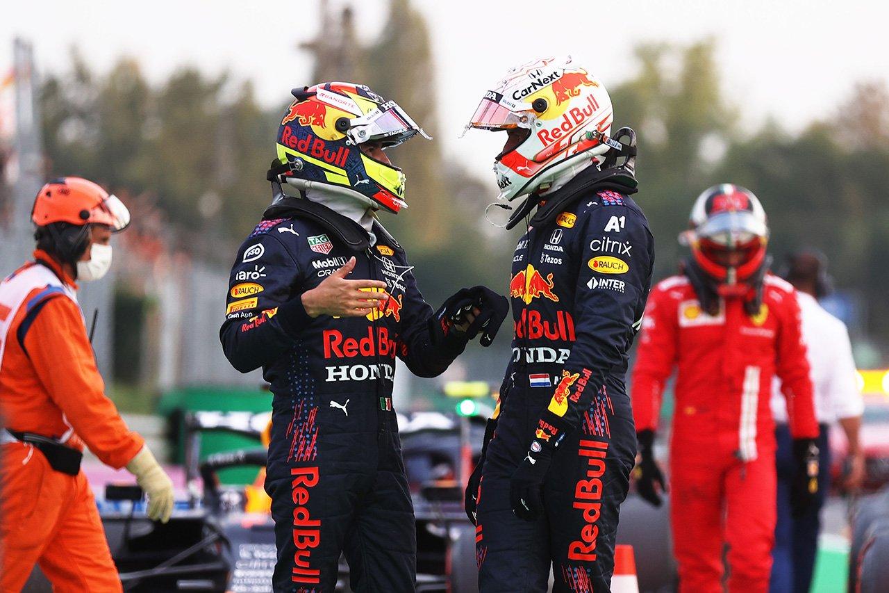セルジオ・ペレス、チームプレイを担って9番手「スプリント予選は難しいかも」 / レッドブル・ホンダ F1イタリアGP 予選