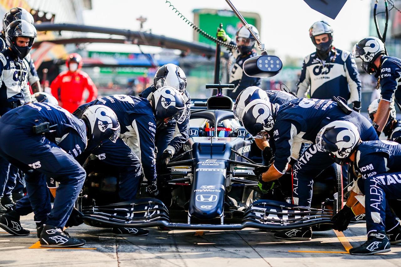 アルファタウリ・ホンダF1 「両ドライバーともうまくいかなかった」 / F1イタリアGP スプリント予選