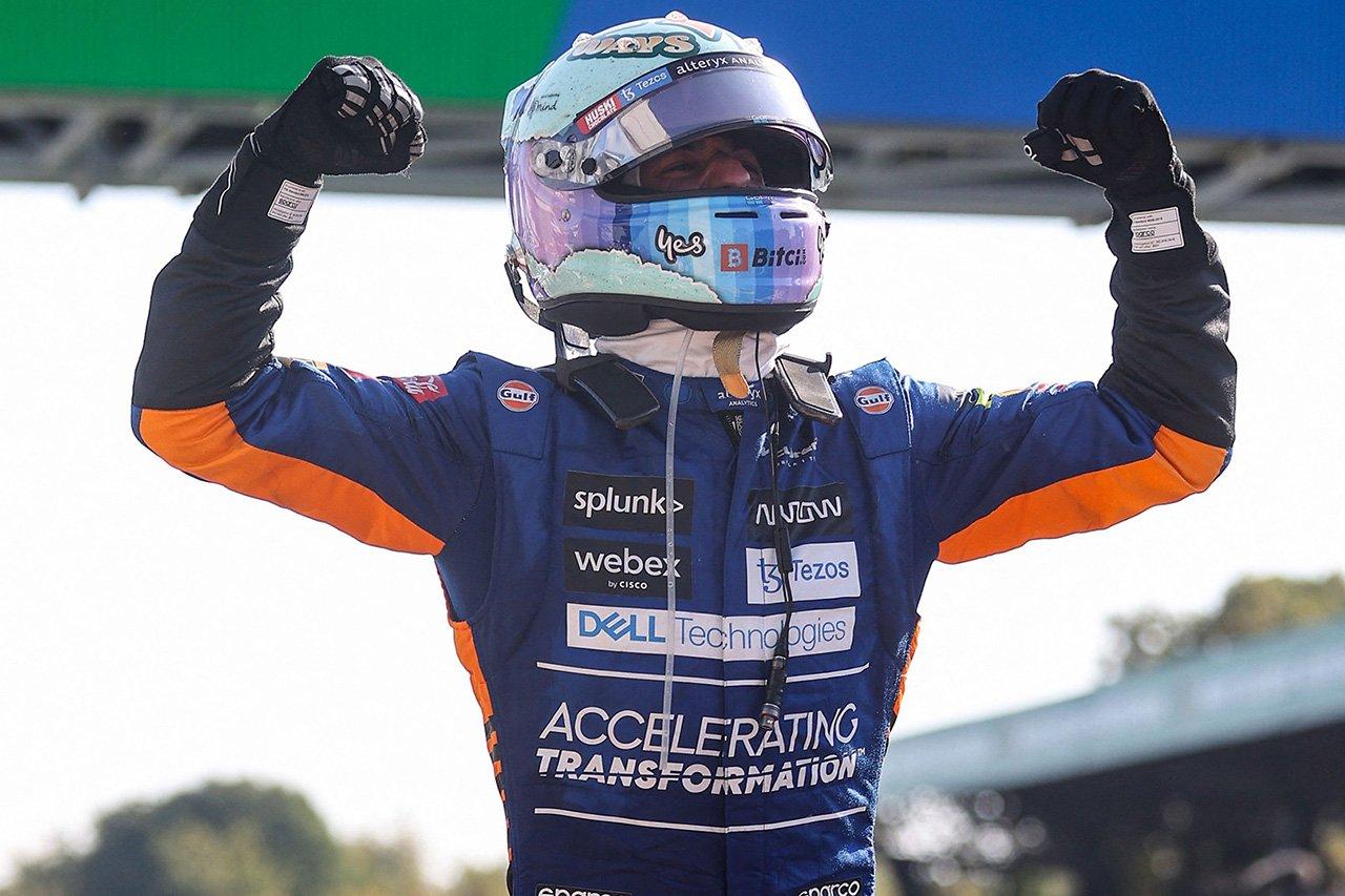 F1イタリアGP 結果:ダニエル・リカルド優勝でマクラーレンがワンツー!フェルスタッペンとハミルトンは接触リタイア